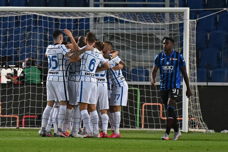 Fudbaleri Intera slave gol protiv Atalante
