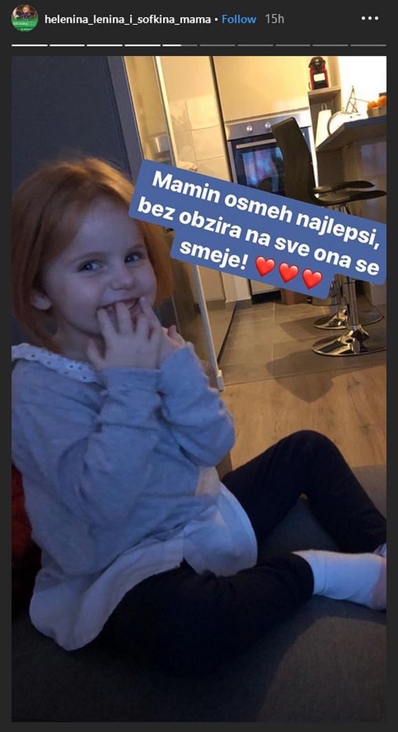 Helena, riđokosa lepotica, sada je u francuskoj bolnici