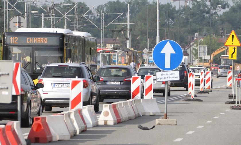 Utrudnienia na Trasie Toruńskiej