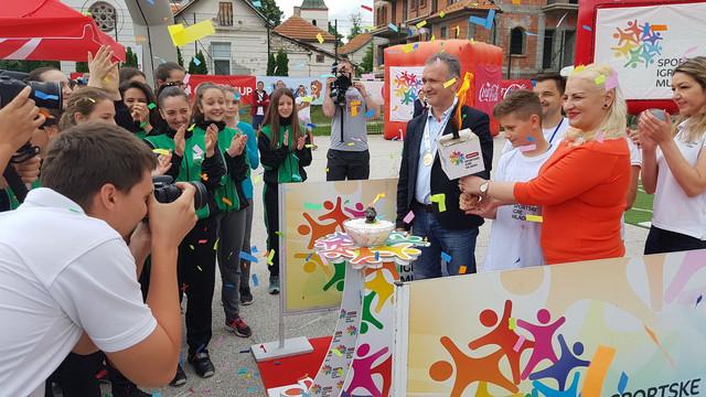 Predsednica SIM Srbije Ivana Jovanović na otvaranju Igara u Sokobanji