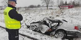 Horror pod Brodnicą. Dwie osoby zginęły na torach