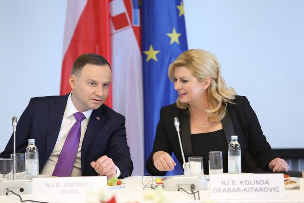 Prezydent RP od poniedziałku przebywa z wizytą w Chorwacji, gdzie spotkał się m.in. z prezydent tego kraju Kolindą Grabar-Kitarović