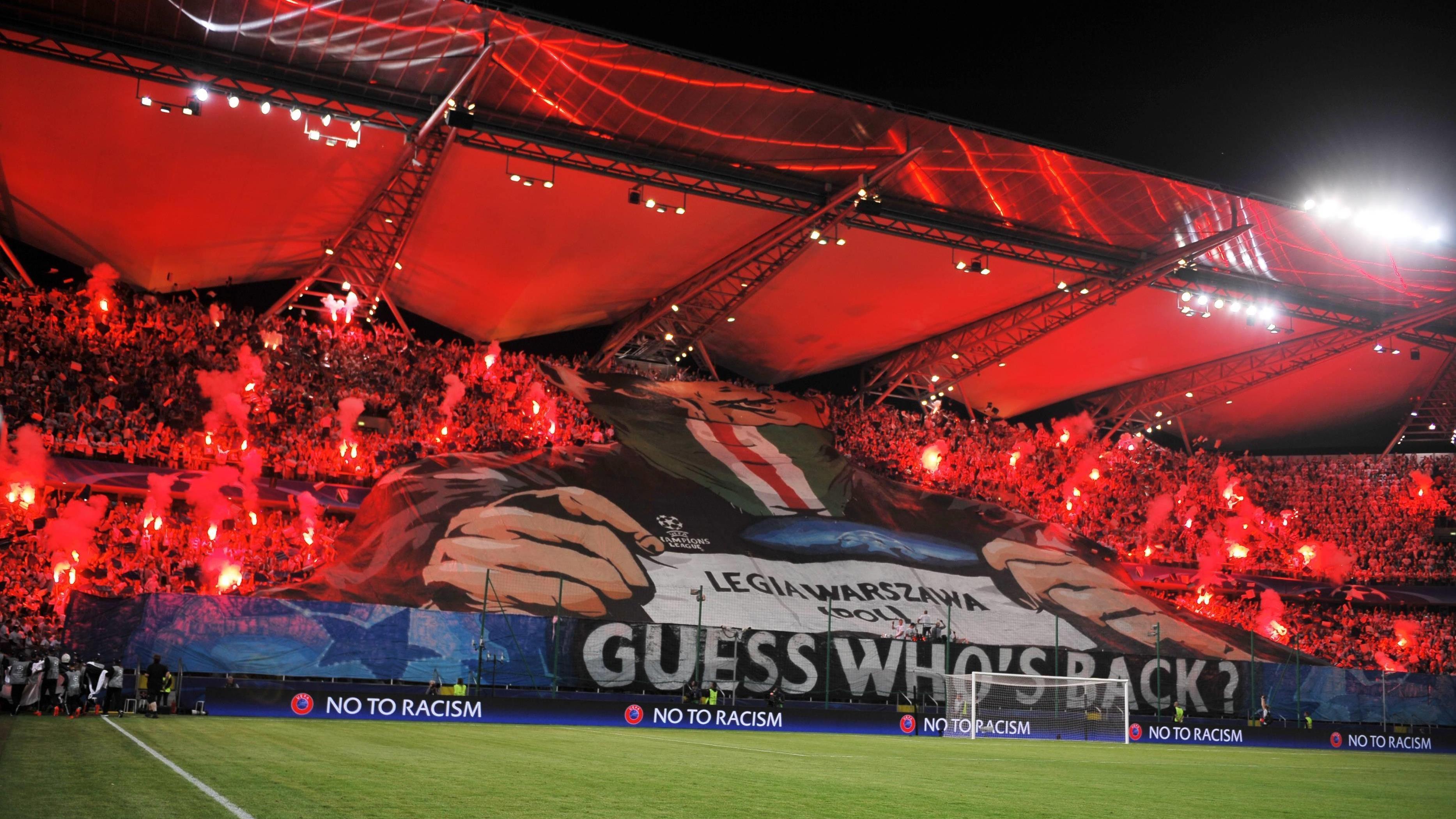 Poważnie UEFA zamknęła stadion na mecz Legii Warszawa z Realem Madryt EZ09