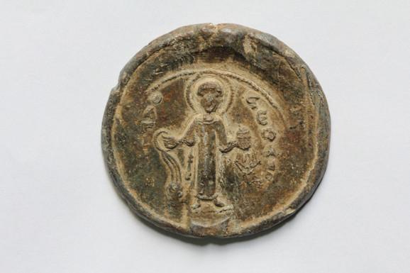 Olovni pečat župana Stefana Nemanje, 1142/3-1166.