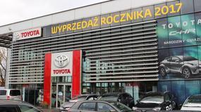 Toyota rozpoczęła wyprzedaż rocznika 2017