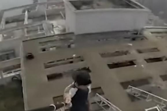 SMRT UŽIVO Popeo se na 62. sprat da bi snimao vratolomije za društvene mreže. NIJE SE DOBRO ZAVRŠILO (VIDEO)