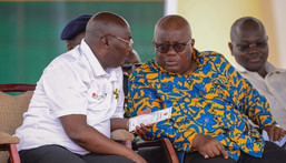 Nana Addo and Mahamudu Bawumia