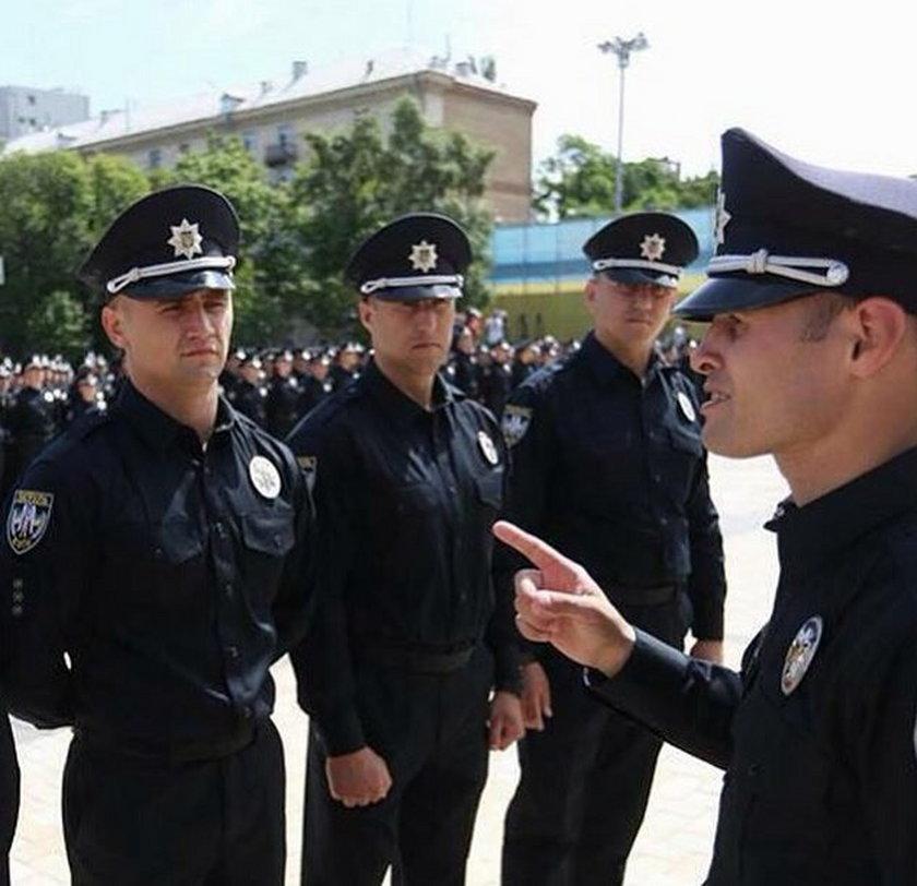 Ukraińcy chwalą się nową policją