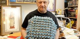 Leszek Król z Krakowa jest... królem haftu