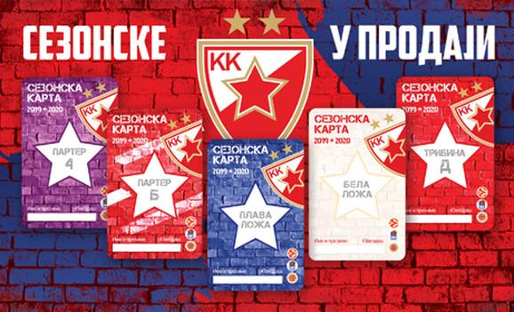 Sezonske ulaznice KK Crvena zvezda