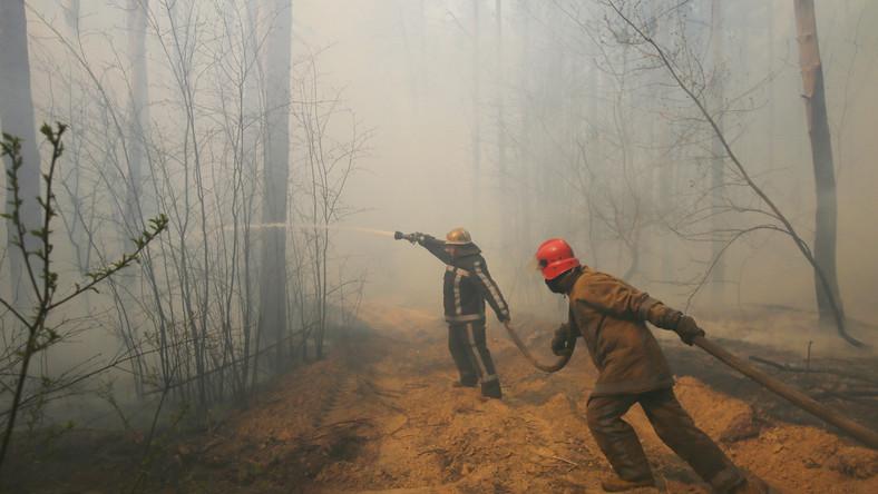 Pożary wokół Czarnobyla