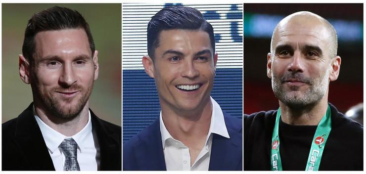 Mesi, Ronaldo, Gvardiola