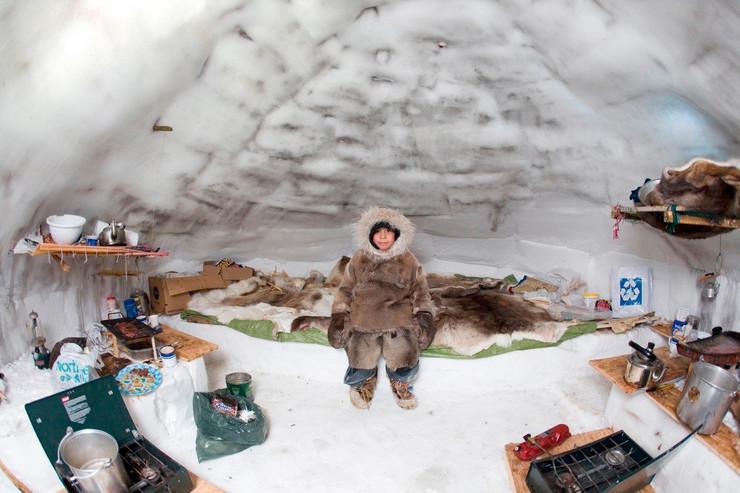 Eskimi, Severni pol