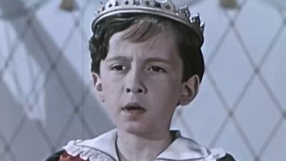 Juliusz Wyrzykowski jako król Maciuś I