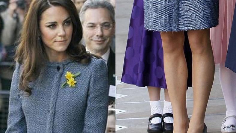 Bezbłędna Kate Middleton zaliczyła modową wpadkę! Zobacz, co w jej stroju wyłołało krytykę