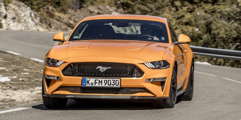 Mustang – czarny koń Forda