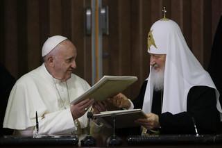 O czym jest wspólna deklaracja papieża Franciszka i patriarchy Cyryla