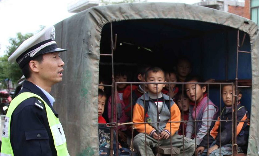 Policja zatrzymała gimbusa