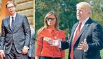PREDSEDNIK NA GENERALNOJ SKUPŠTINI UN Vučić u Njujorku zove Trampa da poseti Srbiju