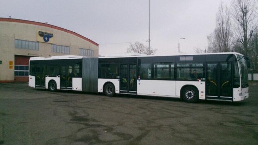 Gdańsk testuje nowy autobus. To mercedes