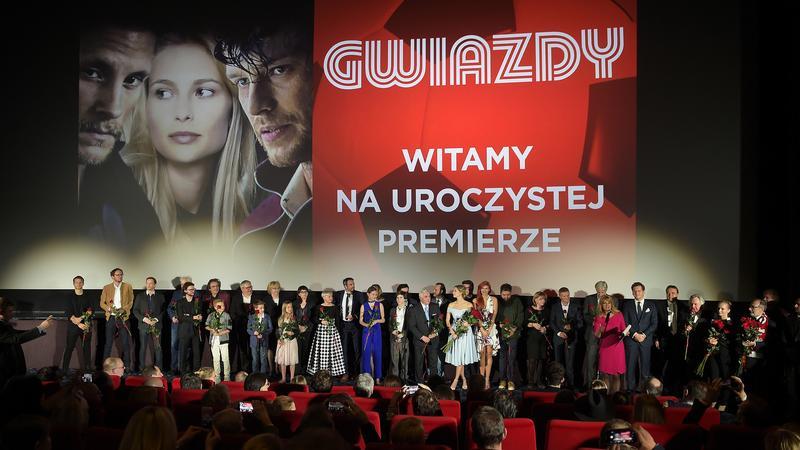 """Uroczysta premiera filmu """"Giwazdy"""""""