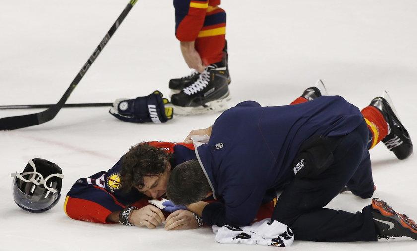Jaromir Jagr stracił cztery zęby podczas meczu NHL Florida Panthers –Ottawa Senators!