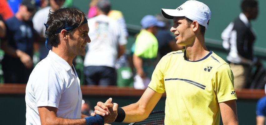Hurkacz zagra ze swoi idolem Federerem. Fibak zapowiada zwycięstwo Polaka