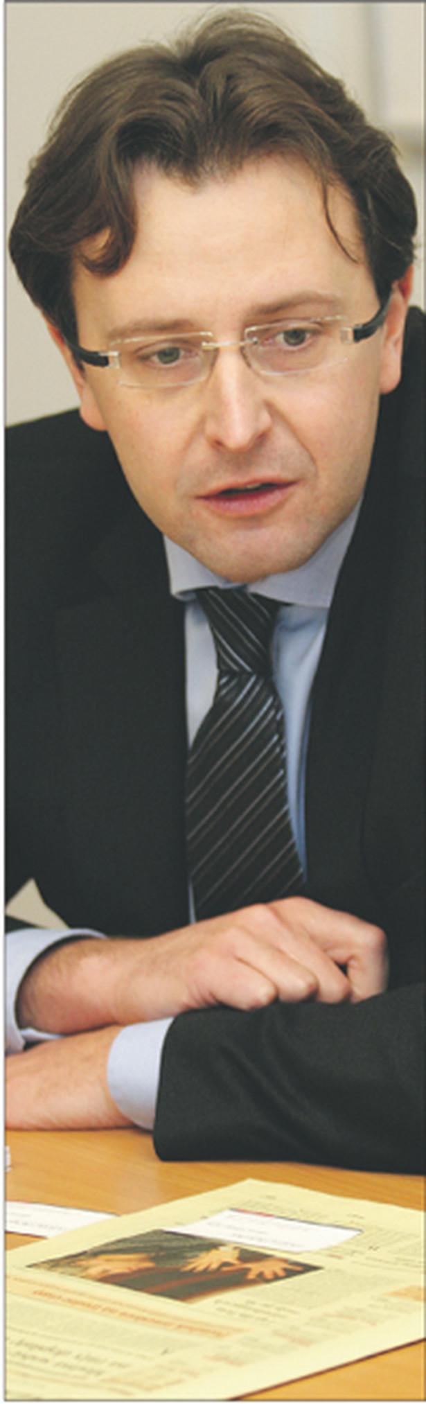 Bartłomiej Jankowski, adwokat, partner w WKB Wierciński, Kwieciński, Baehr Fot. Marek Matusiak