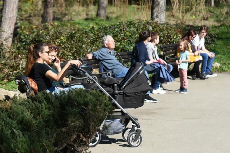 Novosađani su danas uživali na suncu