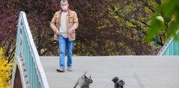 Polski aktor w parku. Poznajecie go?