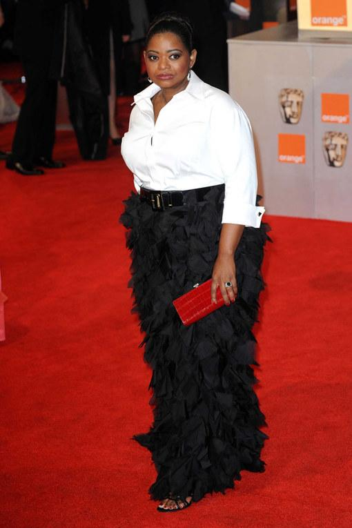 Octavia Hill The Baftas 2012