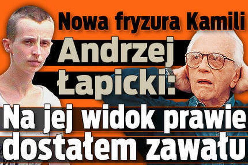 Kamila Łapicka ogoliła głowę!
