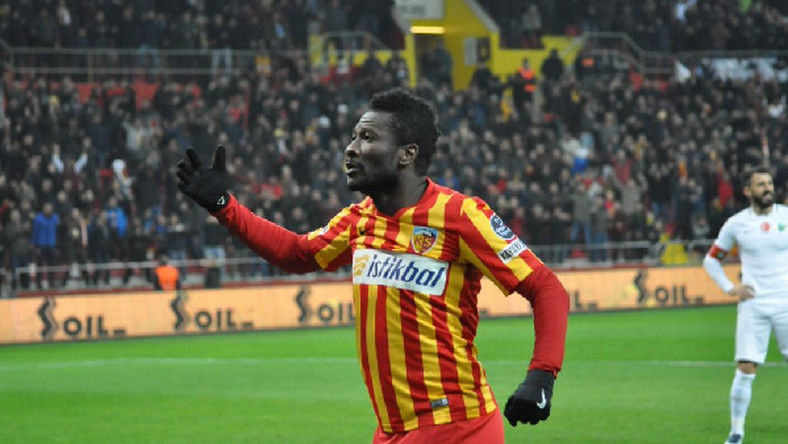 Kayserispor set to offer Asamoah Gyan new contract