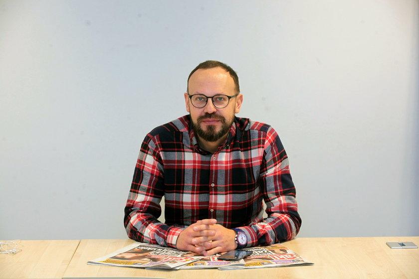 Marcin Głuszek z SKM
