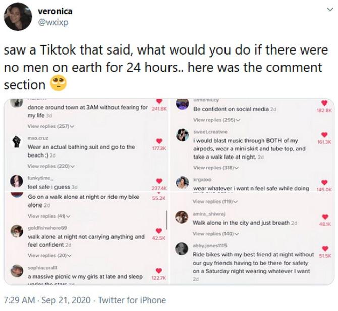 Pitali su žene na Tviteru šta bi radile da 24 sata NEMA MUŠKARACA