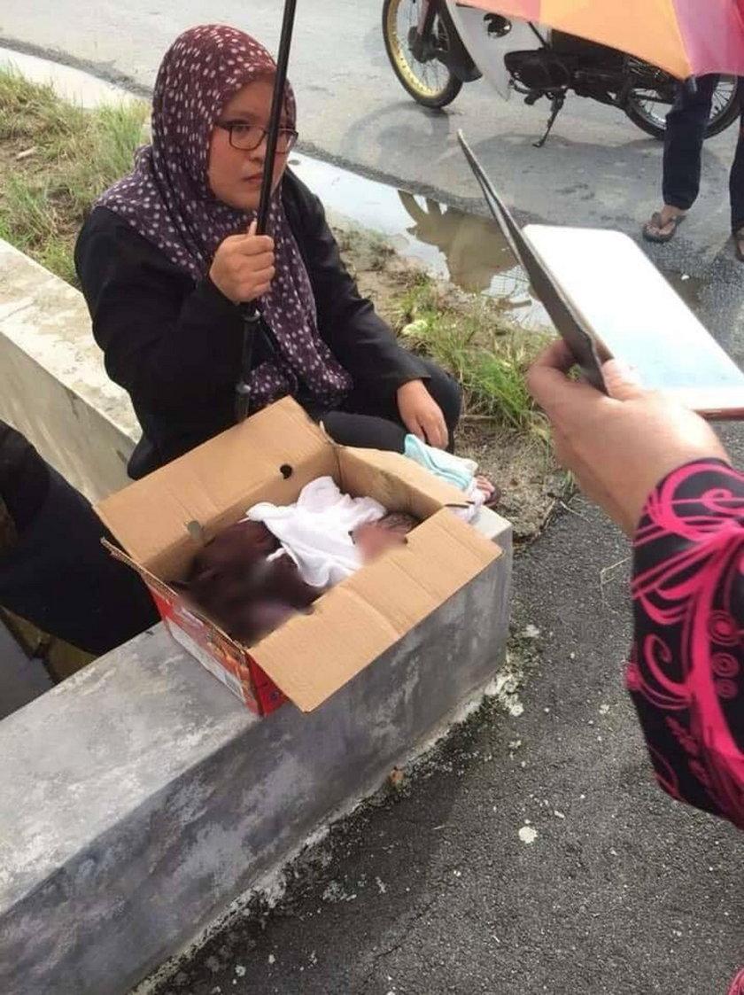 Malezja: Policjant odnalazł w kartonie noworodka