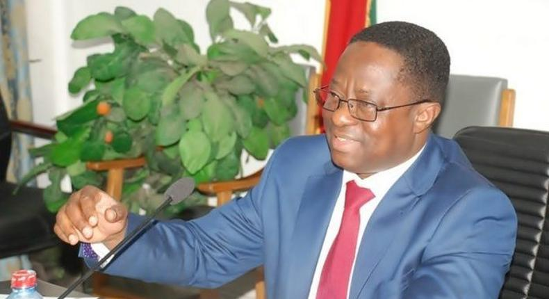 Minister for Energy John Peter Amewu