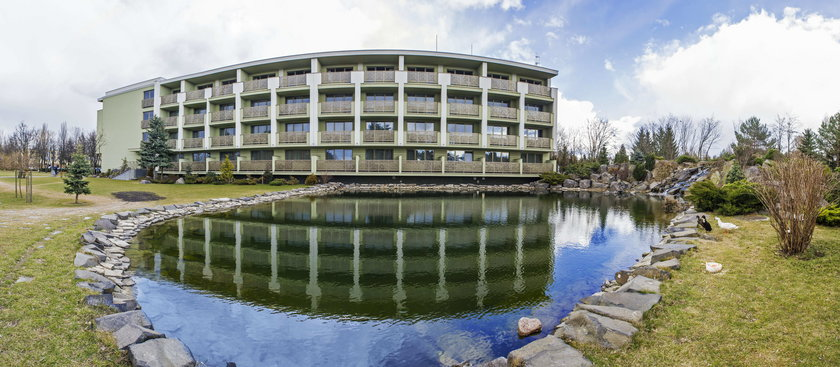 Luksusowy ośrodek w Jachrance