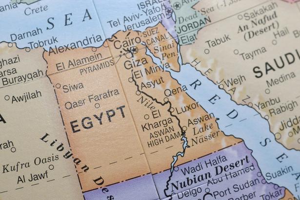 """Egipt rozpoczął w lutym operację antyterrorystyczną pod kryptonimem """"Synaj""""."""