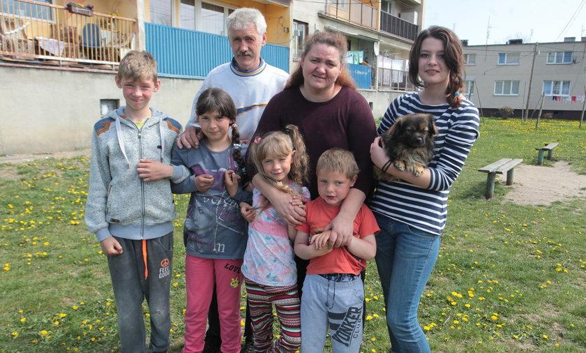 Rodzina państwa Dawidowskich