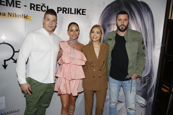 Sloba Radanović, Katarina Živković, Goran Lečić, promocija knjige Jelene Nikolić