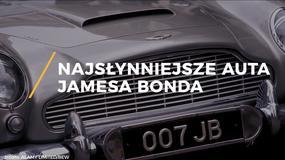 Najsłynniejsze auta Jamesa Bonda