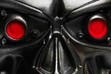 Terminator, robot, oči