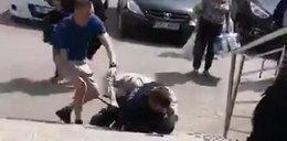 Atak na policjanta w Busku-Zdroju. Nożownik usłyszał zarzut usiłowania zabójstwa