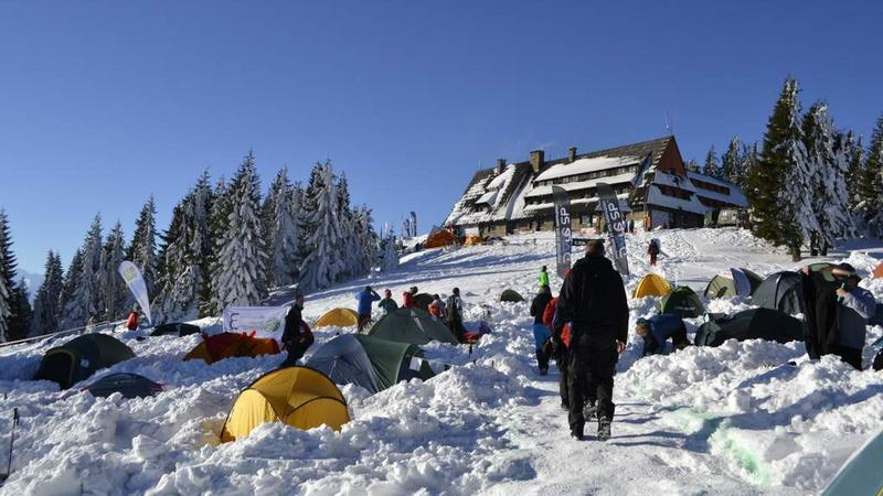 WinterCamp 2015 na Turbaczu