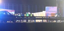 Tragiczny wypadek na A4 koło Rzeszowa. Zginął 23-letni pasażer