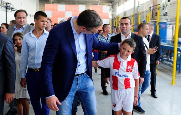 Vučić danas u Aranđelovcu