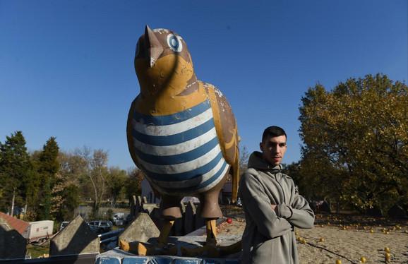 U Beograd se doselio 2011: Ognjen Dobrić