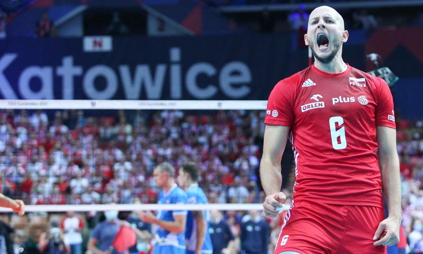 Siatkowka. Mistrzostwa Europy. Polska - Slowenia. 18.09.2021