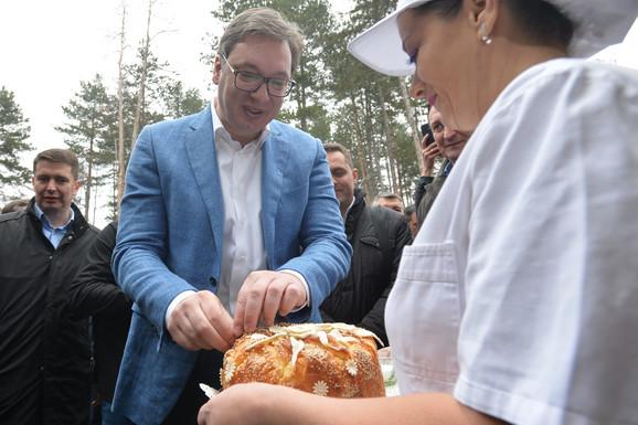 Vučić u Surdulici